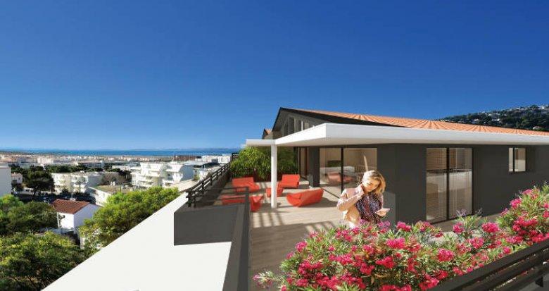 Achat / Vente immobilier neuf Sète avec vues imprenables sur mer et sur le Mont Saint-Clair (34200) - Réf. 3409
