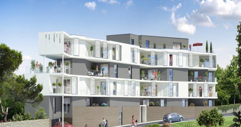 Achat / Vente immobilier neuf Sète entre le Mont Saint Clair et la mer (34200) - Réf. 340