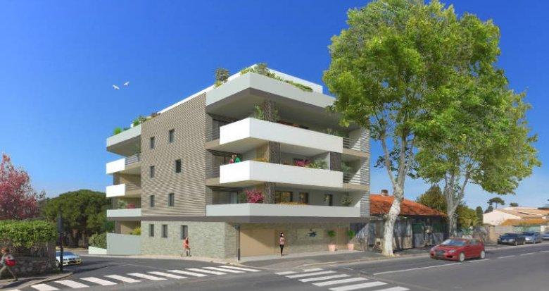 Achat / Vente immobilier neuf Sète proche commerces (34200) - Réf. 2546