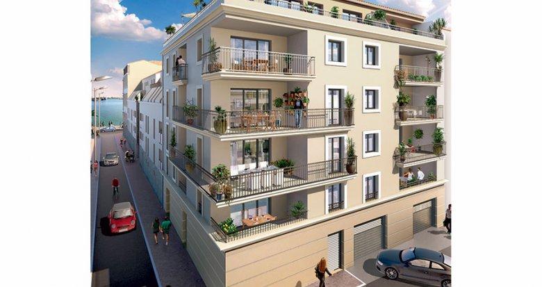 Achat / Vente immobilier neuf Sète proche du port (34200) - Réf. 884