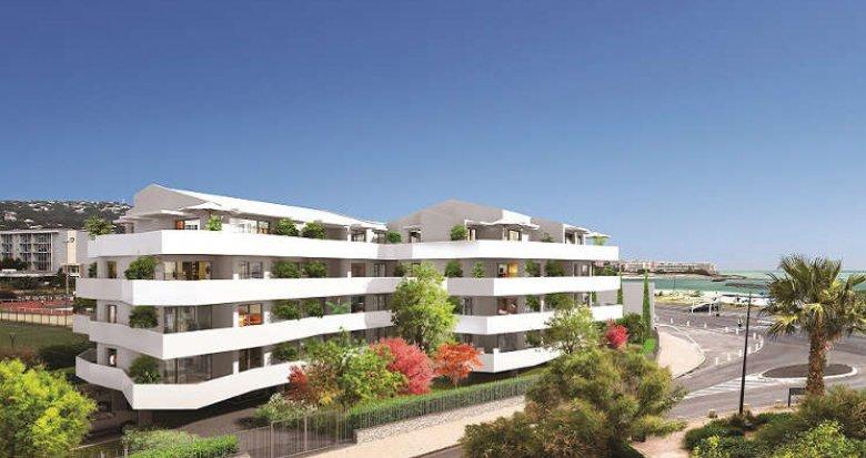 Achat / Vente immobilier neuf Sète proche plages de la Corniche (34200) - Réf. 2558