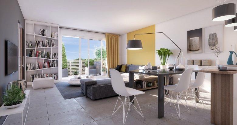Achat / Vente immobilier neuf Villeneuve les Maguelone au sud de Montpellier (34750) - Réf. 2283