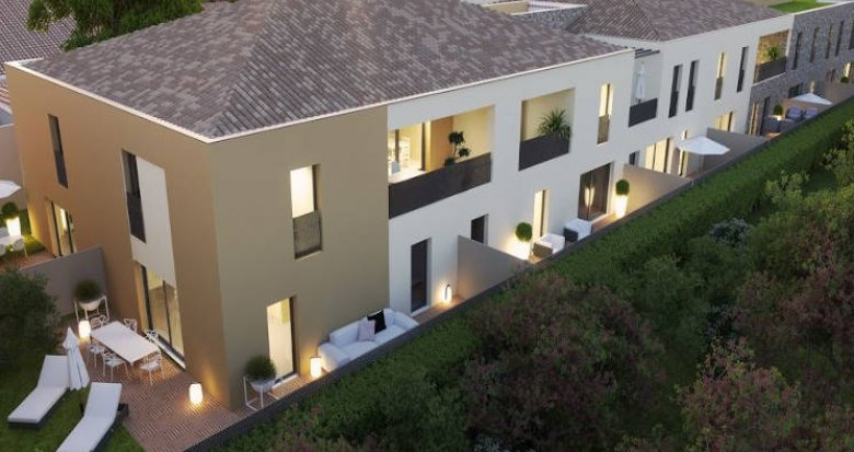 Achat / Vente immobilier neuf Villeneuve-lès-Maguelone en coeur de ville (34750) - Réf. 4191